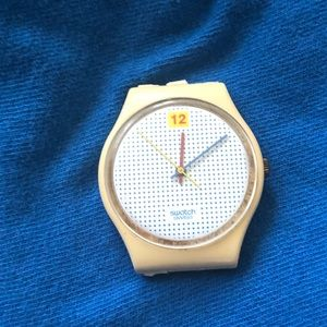 VINTAGE SWATCH POLKA DOT WATCH